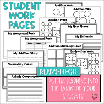Math Project-based Learning & Enrichment for Addition