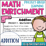 Math Enrichment and Project Based Learning for Addition