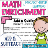 Math Enrichment and Project Based Learning for Addition an