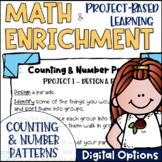 Math Project-based Learning & Enrichment for Counting and