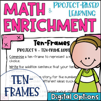 Math Project-based Learning & Enrichment for Five and Ten Relationships