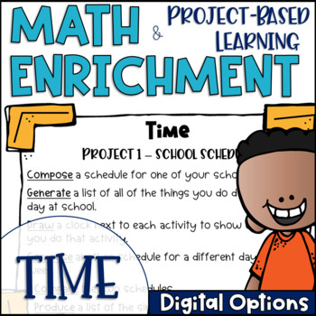 Math Project-based Learning & Enrichment for Measurement of Time
