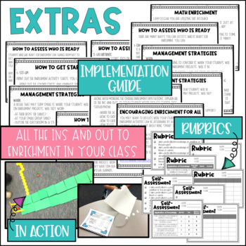 Math Project-based Learning & Enrichment Number & Operations in Base Ten BUNDLE