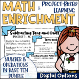 Math Project-based Learning & Enrichment Number & Operatio