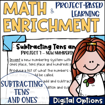 Math Project-based Learning & Enrichment for Subtracting T