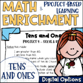 Math Project-based Learning & Enrichment for Tens and Ones