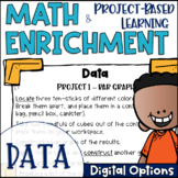 Math Project-based Learning & Enrichment for Using Data