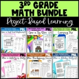 Math Project-based Learning for 3rd Grade Bundle: 6 Awesom