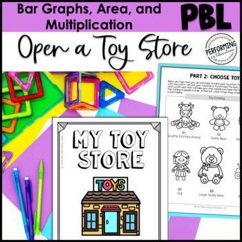 Math Project-based Learning for 3rd Grade: Open a Toy Store