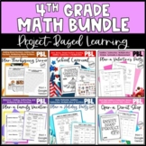 Math Project-based Learning for 4th Grade Bundle: 6 Awesom