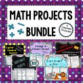 Math Projects Bundle: Fractions, Multiplication, Measureme
