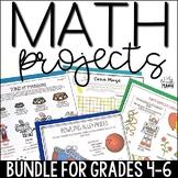 Math Projects Bundle: Math Enrichment for Grades 4-6