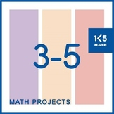 Math Projects for Grades 3-5 (42 Projects with Rubrics)