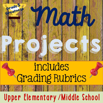 Math Projects with Rubrics