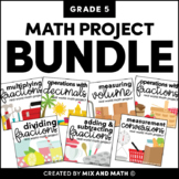 Math Projects for 5th Grade | Distance Learning
