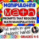 Math Problems Using Manipulatives HANDS ON ACTIVITIES Grades 4-5 TEST PREP
