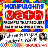 Math Problems Using Manipulatives HANDS ON ACTIVITIES Grad