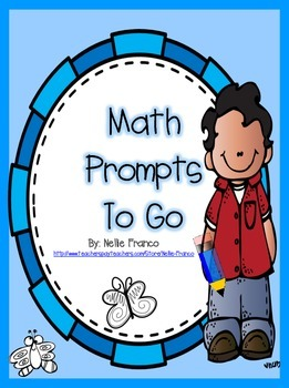Math Prompts To Go