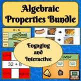 Properties - Distributive Property - Commutative - Associa