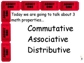 Math Properties Flipchart & Worksheet Freebie!