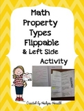 Math Properties Flippable & Left Side Activity