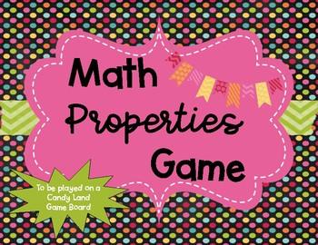 Math Properties Game