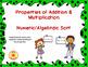 Math Properties Matching Activity