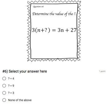Math Properties Mini Google Form Bundle – Perfect for Google Classroom!