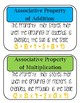 Math Property Mini Posters/ Vocab Cards