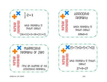 Math Properties Scavenger Hunt using QR Codes