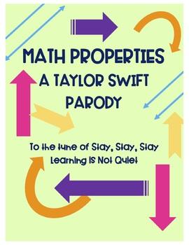 Math Properties Song (Commutative, Associative, Identity, Distributive) (TSWIFT)