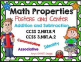 Math Properties Sort and Solve Center: Addition and Subtraction