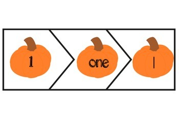 Math Pumpkin Match-up