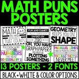 Math Puns Posters