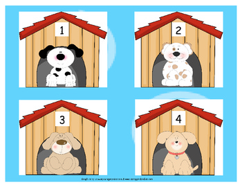 Math- Puppy Count and Match Sets