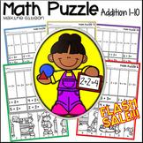 Math Puzzle Addition 1-10