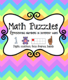 Subitizing Math Puzzle