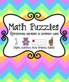 Subitizing Math Puzzle
