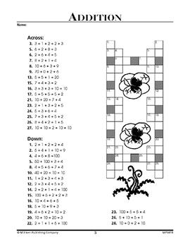Math Puzzlers - Grade 3