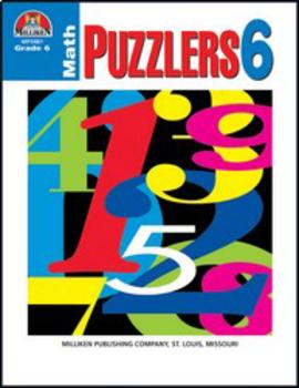 Math Puzzlers - Grade 6
