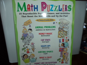Math Puzzlers  ISBN#0-590-20943-4