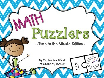 Math Puzzlers: Time to the Minute Edition