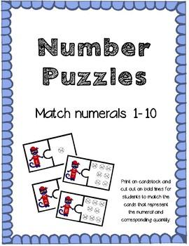 Math Puzzles 1-10
