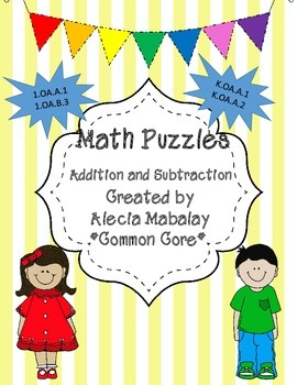 Math Puzzles (Addition and Subtraction)
