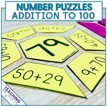 Math Puzzles Addition to 100