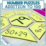 #AusTeacherBFR Math Puzzles Addition to 100