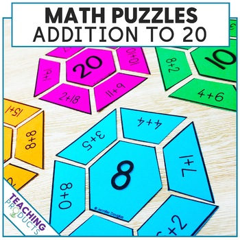 Math Puzzles Addition to 20