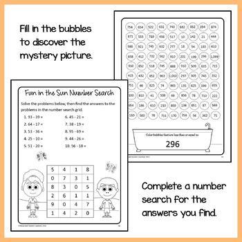 Math Puzzles Bundle - 2nd Grade Common Core