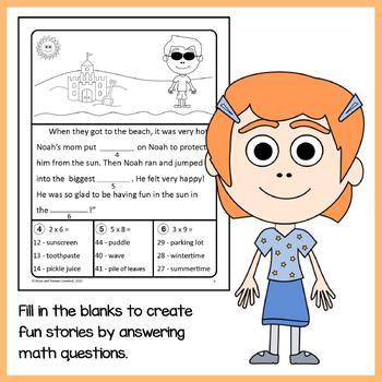 Math Puzzles Bundle - 3rd Grade Common Core