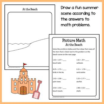 Math Puzzles Bundle - 5th Grade Common Core